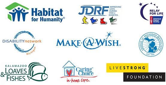 Clark Charity Logos