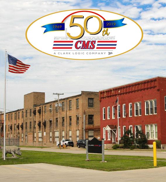 cms logistics 50th